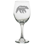 Mama Bear - White Wine Glass
