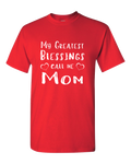 My Greatest Blessing Dark - Adult Unisex T-Shirt
