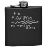 Red White and No More Blues - Flask