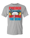 Chicago Favorites - Hot Dogs and the Bean - Light - Adult Unisex T-Shirt