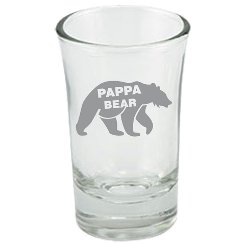 Pappa Bear - Dessert Shot Glass