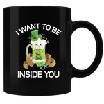 Green Beer Coffee Mug - Black