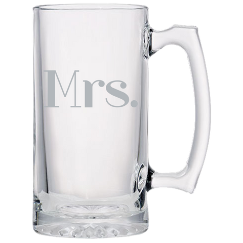 Mrs. - Beer Mugs