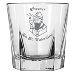 Cheers to St. Valentine - Rock Glass