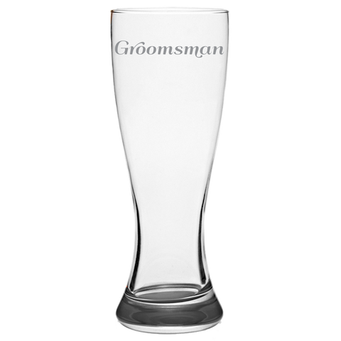 Groomsman - Pilsner Glass