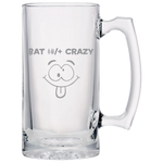 Bat Shit Crazy - Beer Mugs