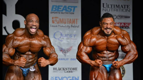 Roelly Winklaar With Dexter Jackson