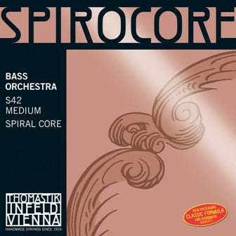 Thomastik Spirocore Medium low B or C string for 5 String Bass