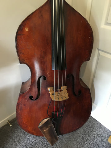 German 7/8 Size Double Bass (Used)