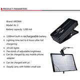 Aroma AL-1 Rechargeable LED Music Stand Light