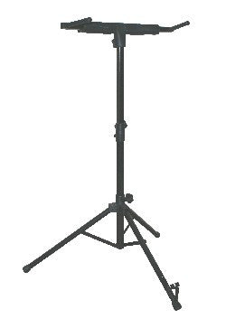 PMM Folding Double Bass Stand (Black)
