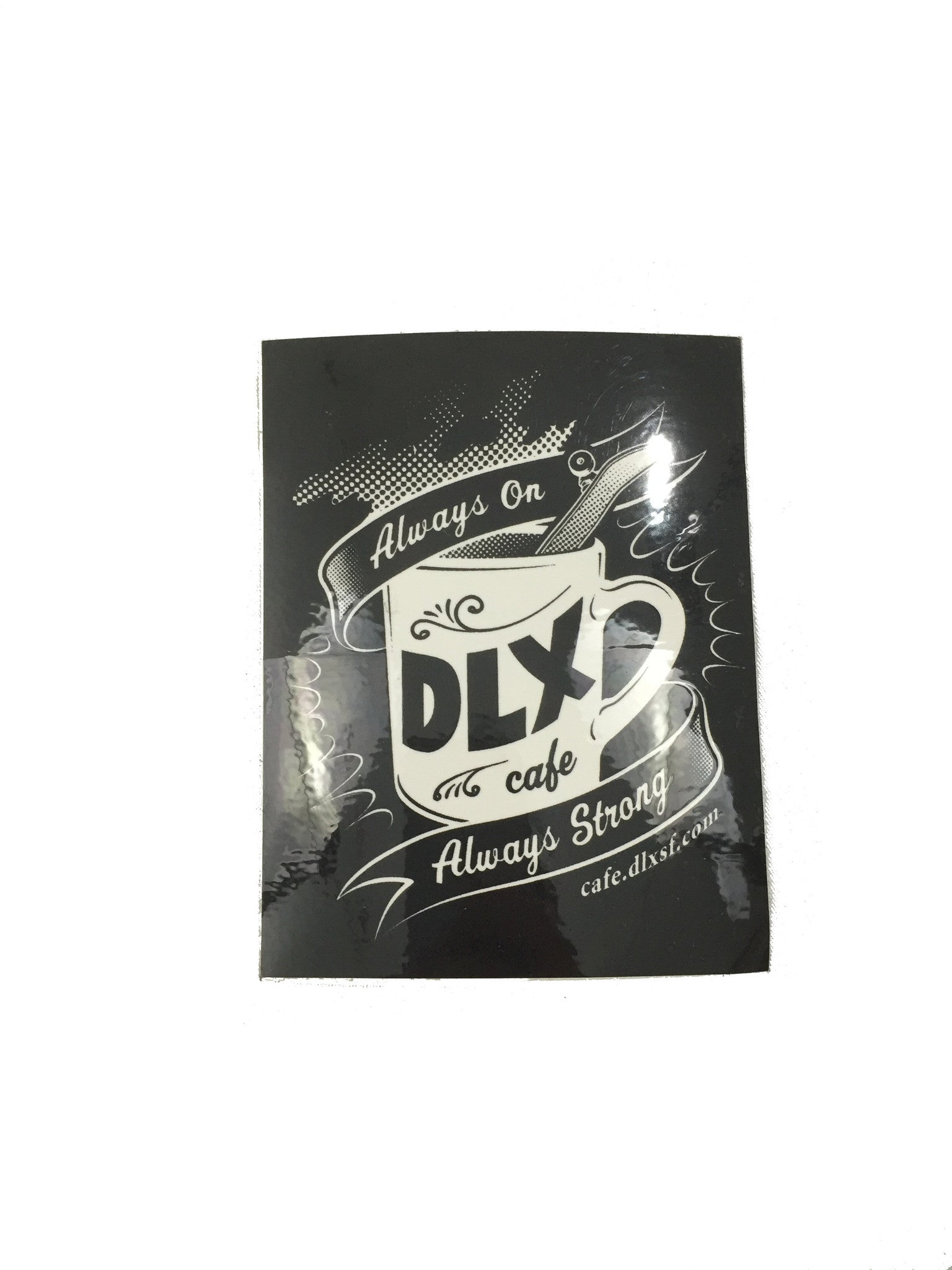 Deluxe - DLX Cafe Sticker