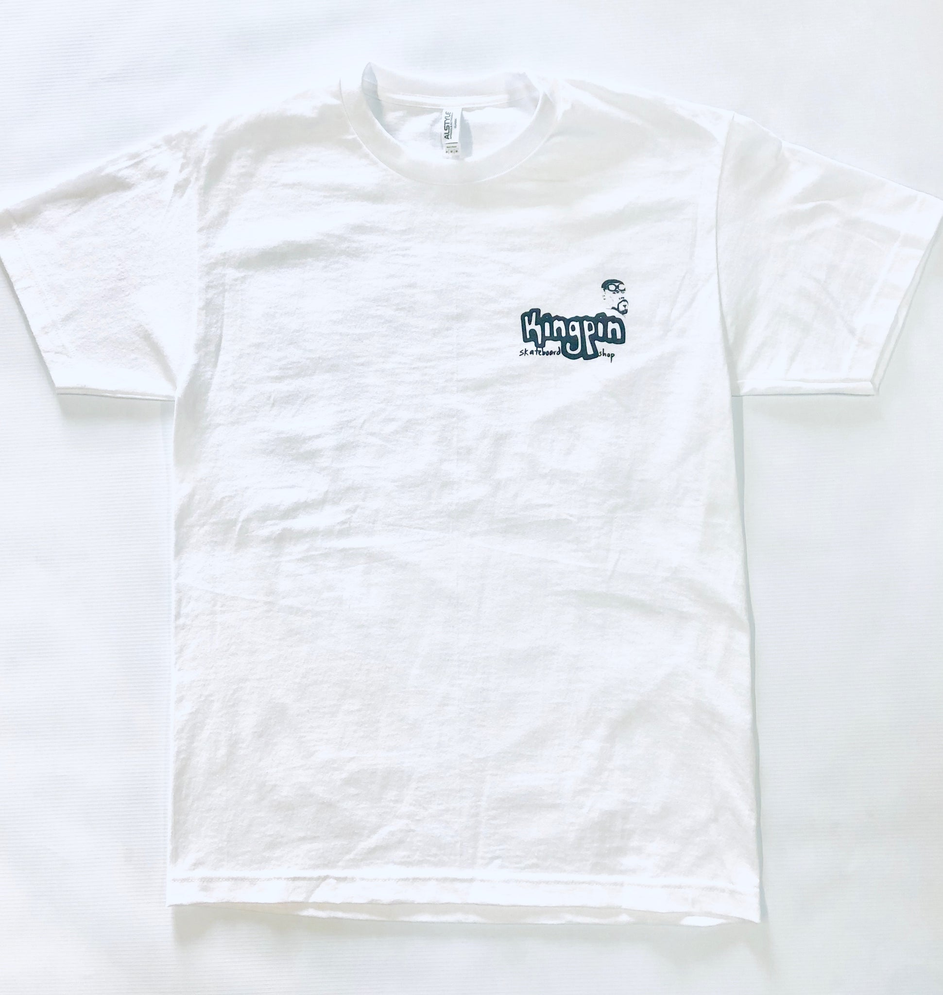 Kingpin x Lotties Relief Tee White