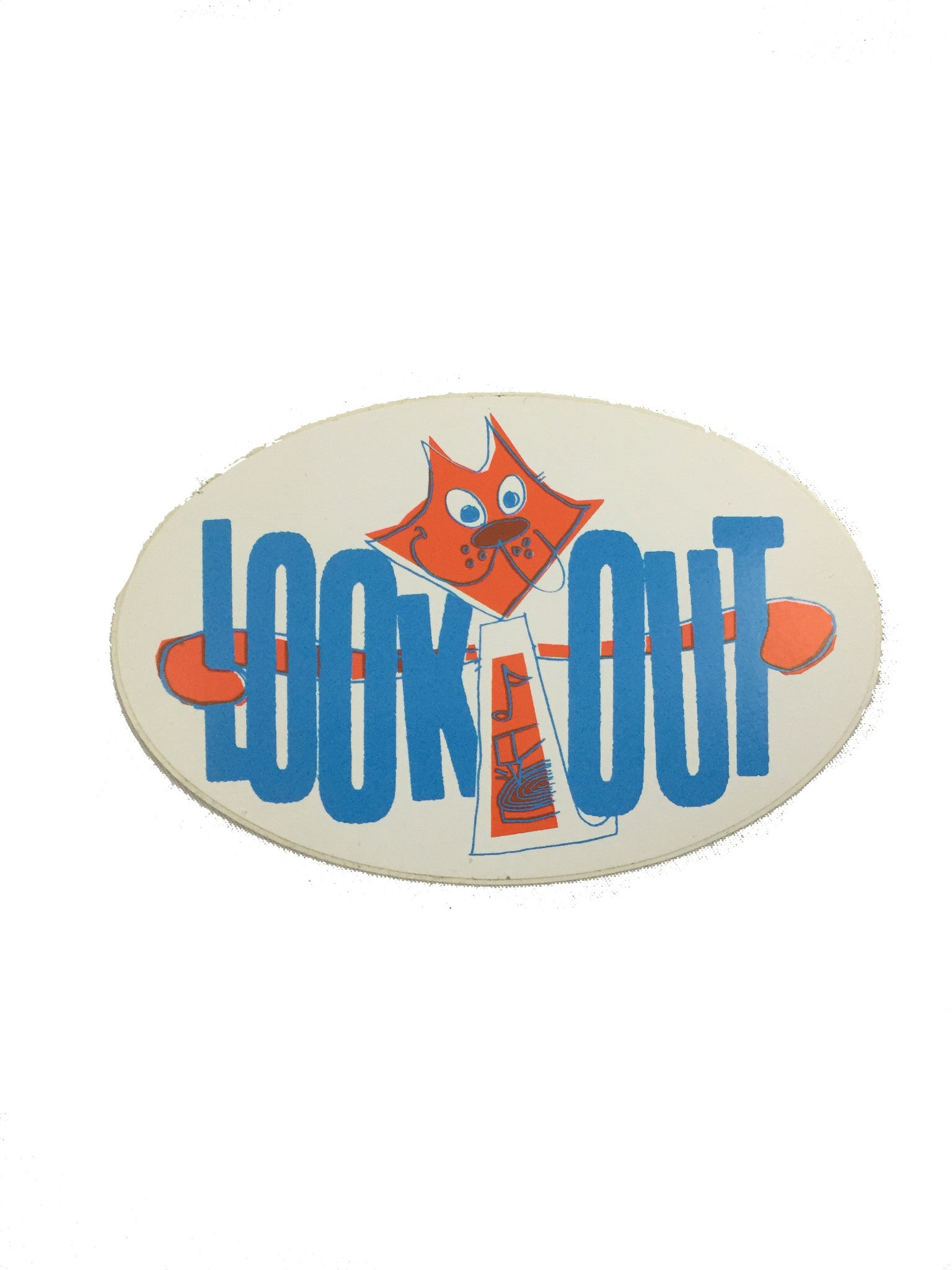 Lookout - Cat Sticker