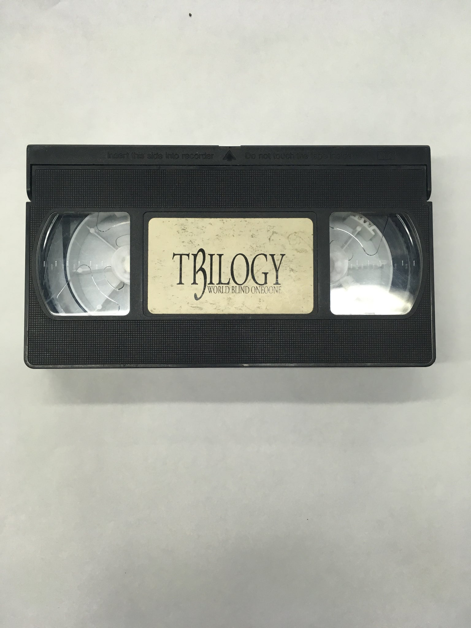 Trilogy World Blind Oneoone VHS