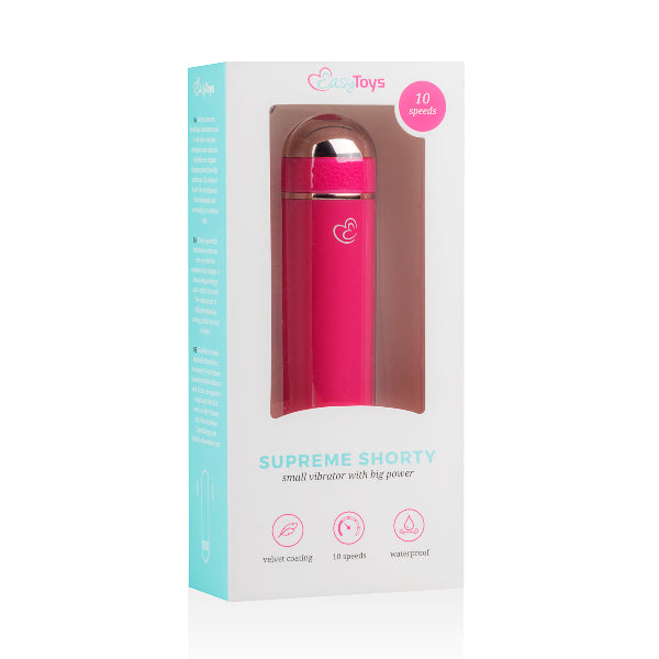 Supreme Shorty Mini Vibrator Pink