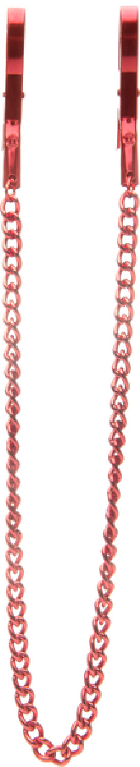 Pincers Nipple Clamps (Red)