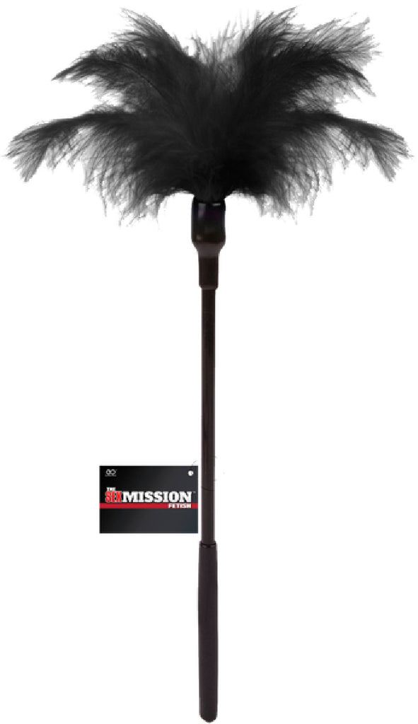 Feather Tickle Whip (Black)