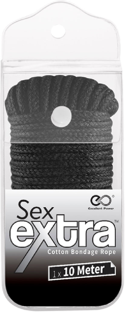 10m Cotton Bondage Rope (Black)