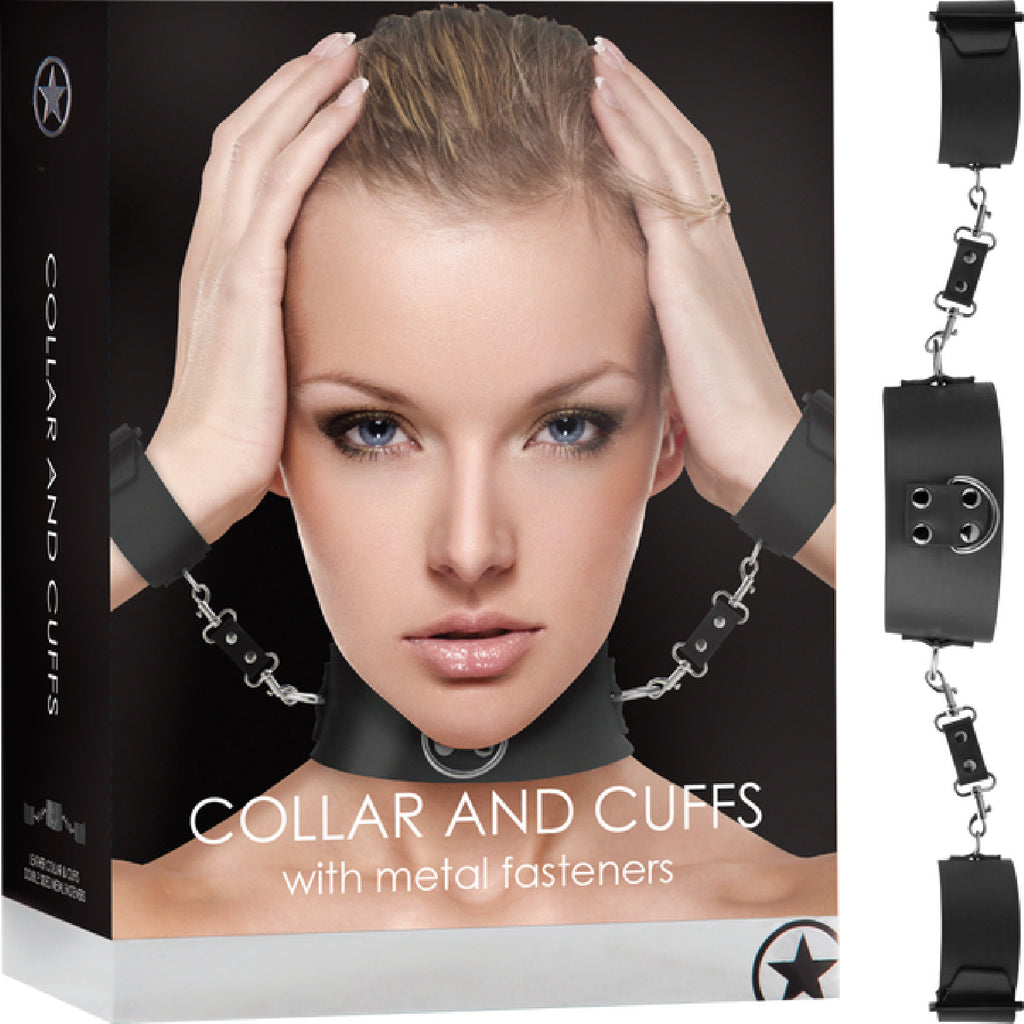 Collar With Cuffs (Black)