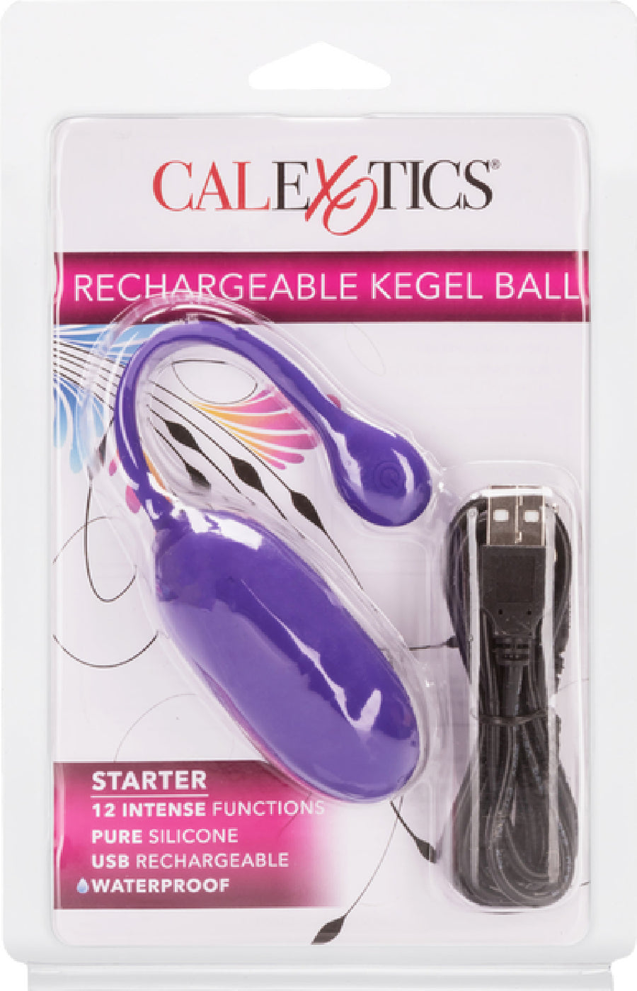 Rechargeable Kegel Ball Starter (Purple)