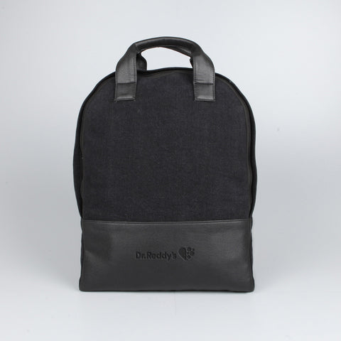 2 Tone Curve Backpack Black