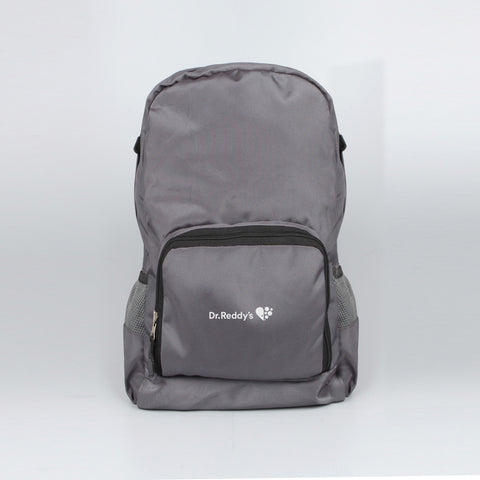 Foldable Light Backpack Grey