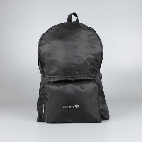 Foldable Light Backpack Black