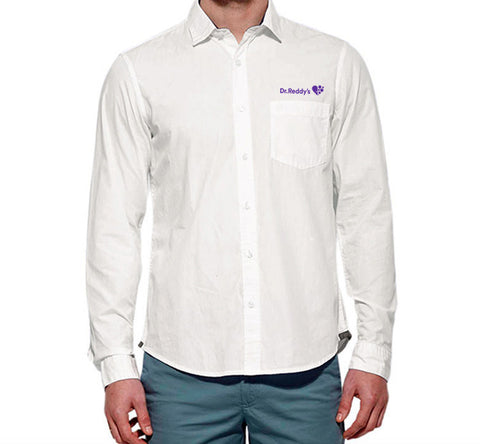 Benetton Formal White Shirt-IND