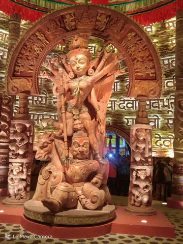 Celebrating Dussehra & Diwali festivals 2017 - A close look at Pandals and effigies in Odisha & Kolkata