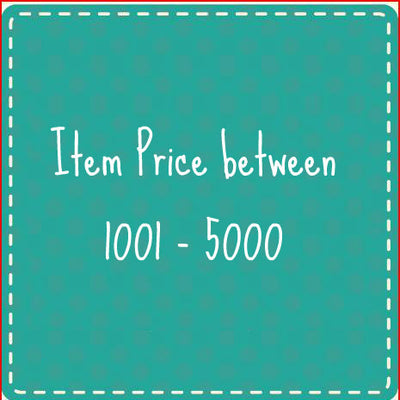 Item Price between 1001 - 5000