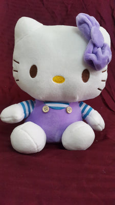Hello Kitty Soft Toy - 9 inches - White, Purple - Plush Toy - SharePyar