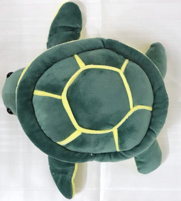 Tortoise Soft Toy - 10 inches - Bottle Green - Plush Toy - SharePyar