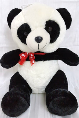 Panda Soft Toy - 15 inches - Black, White - Plush Toy - SharePyar