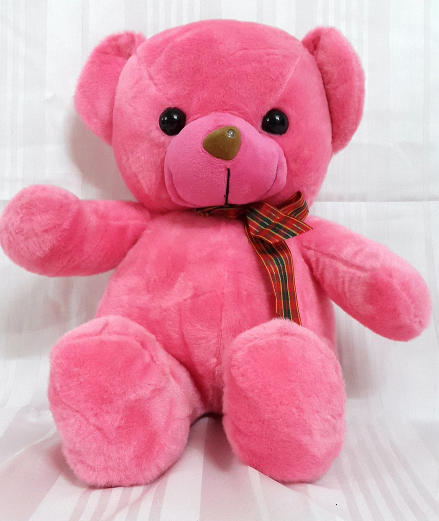 Teddy Bear Soft Toy - 15 inches - Pink - Plush Toy - SharePyar