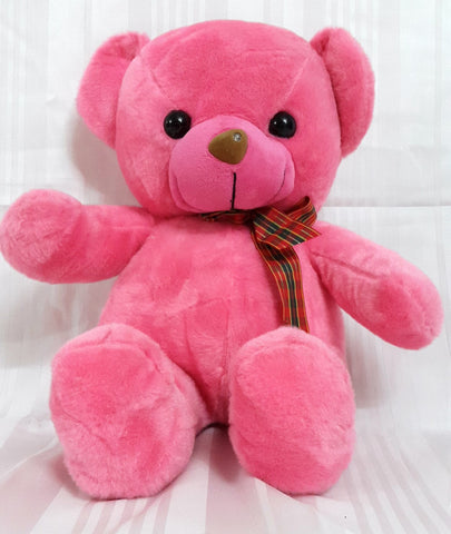 Teddy Bear Soft Toy - 15 inches - Pink - SharePyar - 1