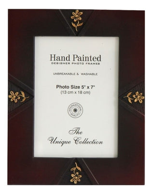 Washable Hand Painted Designer Photo Frames ( 5X7 inch ) - Photo Frames - SharePyar
