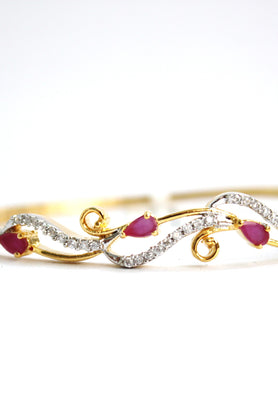 American Diamond Bangle Bracelet - Jewellery - SharePyar