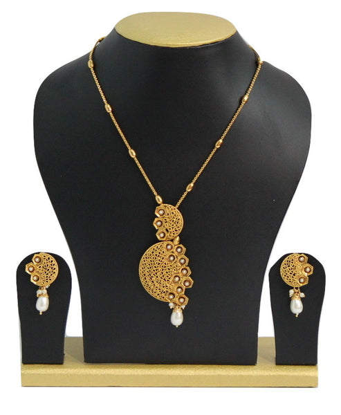Traditional Antique Necklace Set - SharePyar - 2