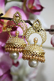 Antique Pearl Jhumka - Jewellery - SharePyar