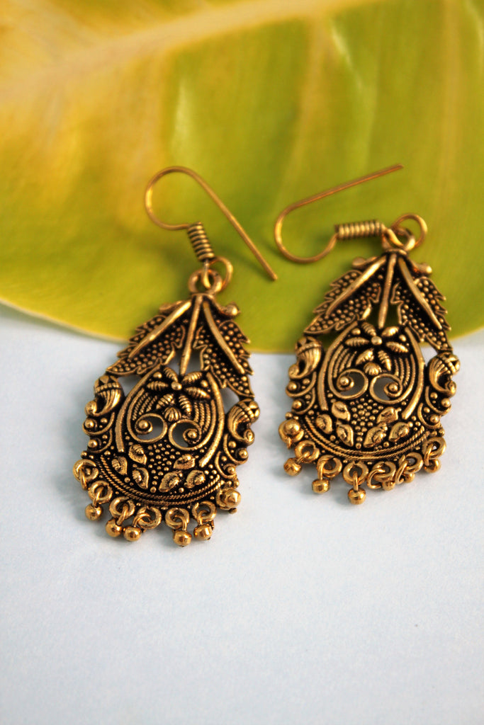 Antique Rustic Earrings - SharePyar - 1