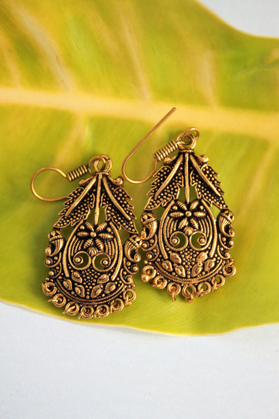 Antique Rustic Earrings - SharePyar - 3