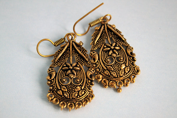 Antique Rustic Earrings - SharePyar - 2