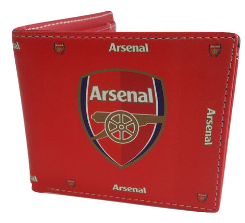 Arsenal Red Leather Wallet - SharePyar - 1