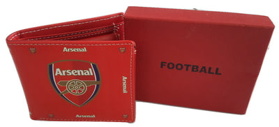 Arsenal Red Leather Wallet - Wallets - SharePyar
