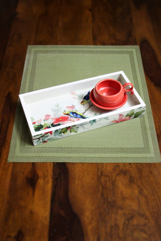 Birdy Enamel Serving Tray - SharePyar - 1