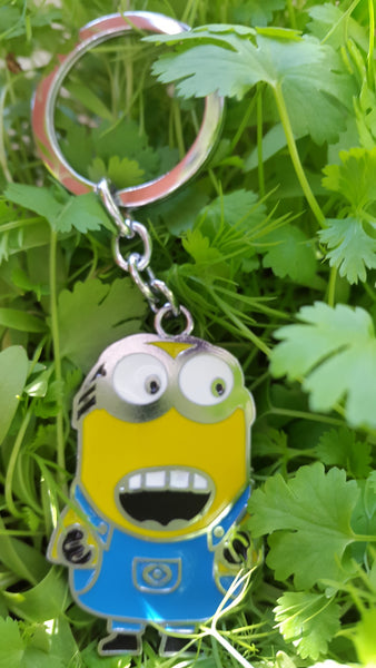 Minion ( Bob ) Metal KeyChain - SharePyar - 3