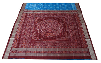 Bandha Sambalpuri Silk Saree, Butterfly Design - SharePyar - 1