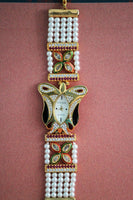 Butterfly Embellished American Diamond Watch