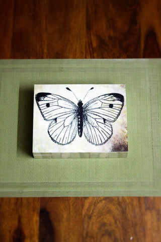 Butterfly Wooden Storage Box - SharePyar - 1